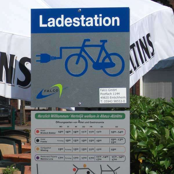 Ladestation FalcoIon RheinEnergie
